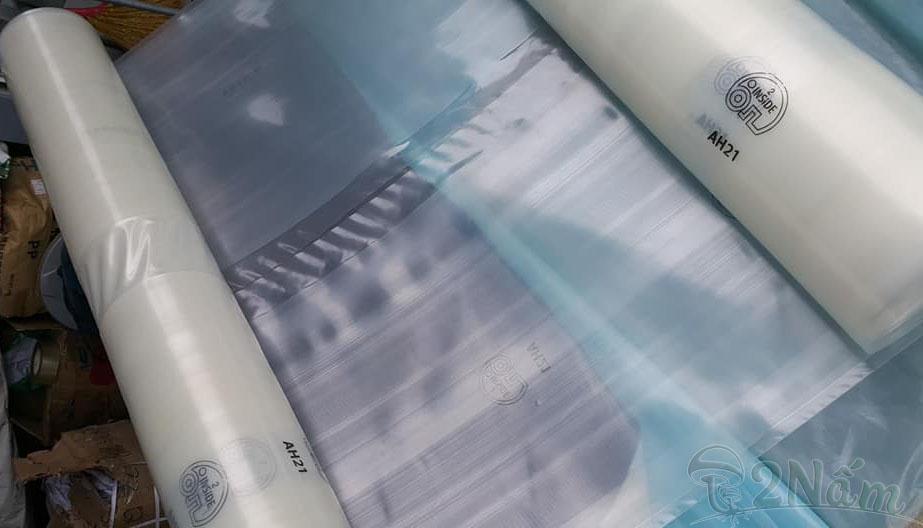 Cuộn màng nhà kính Ginegar israel khổ 5m cao cấp