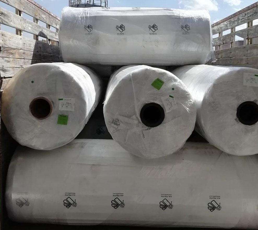 Cuộn màng nhà kính Politiv Israel khổ 3m7 x 100m x 150Mic