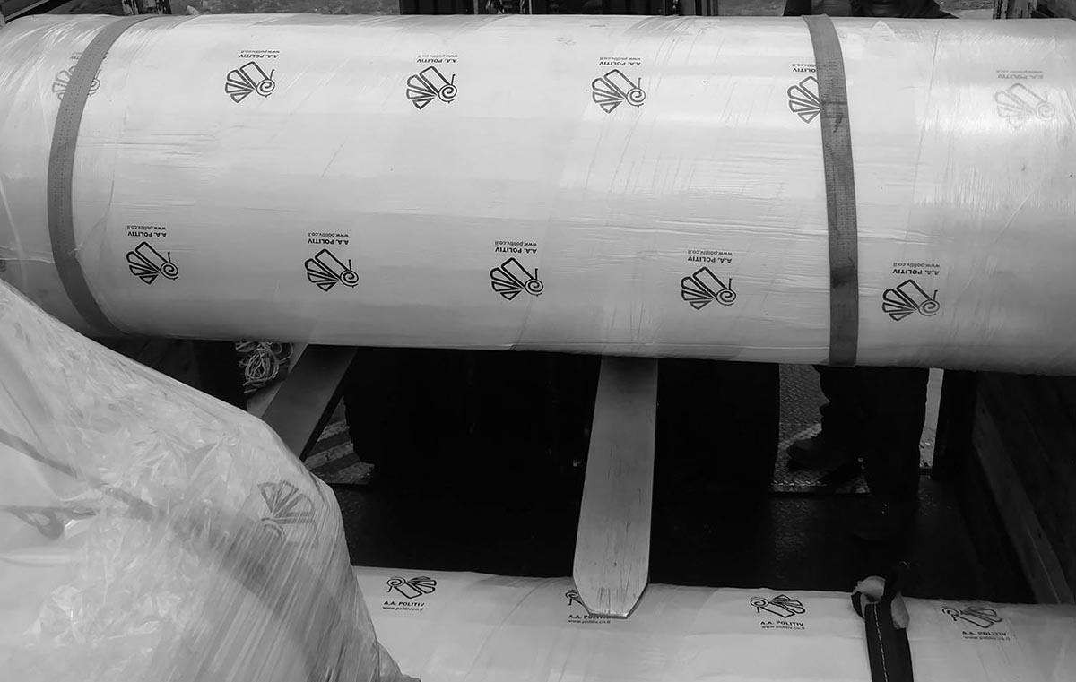 Cuộn màng nhà kính Politiv Israel khổ 6m x 100m x 150Mic