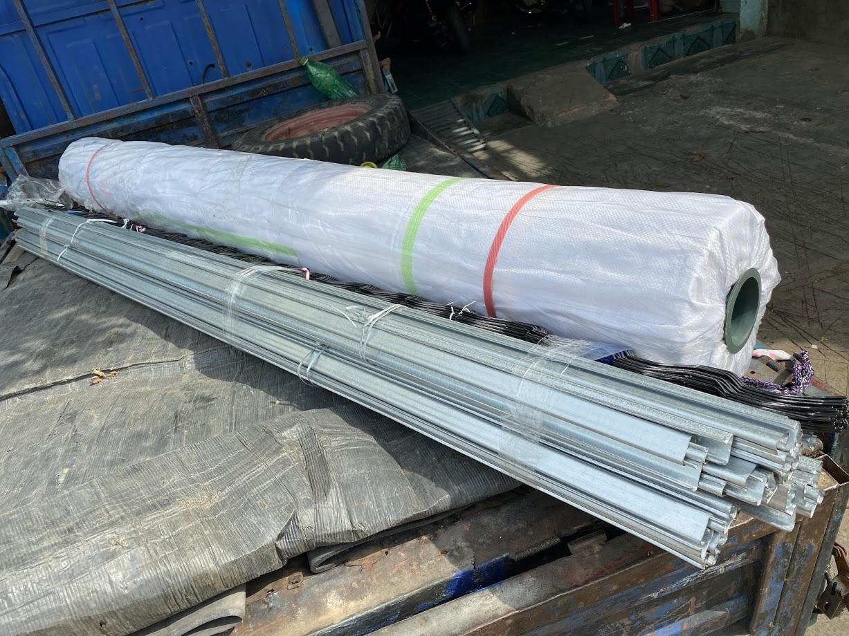 Cuộn màng phủ nhà kính giá rẻ khổ 5m x 100m x 150Mic