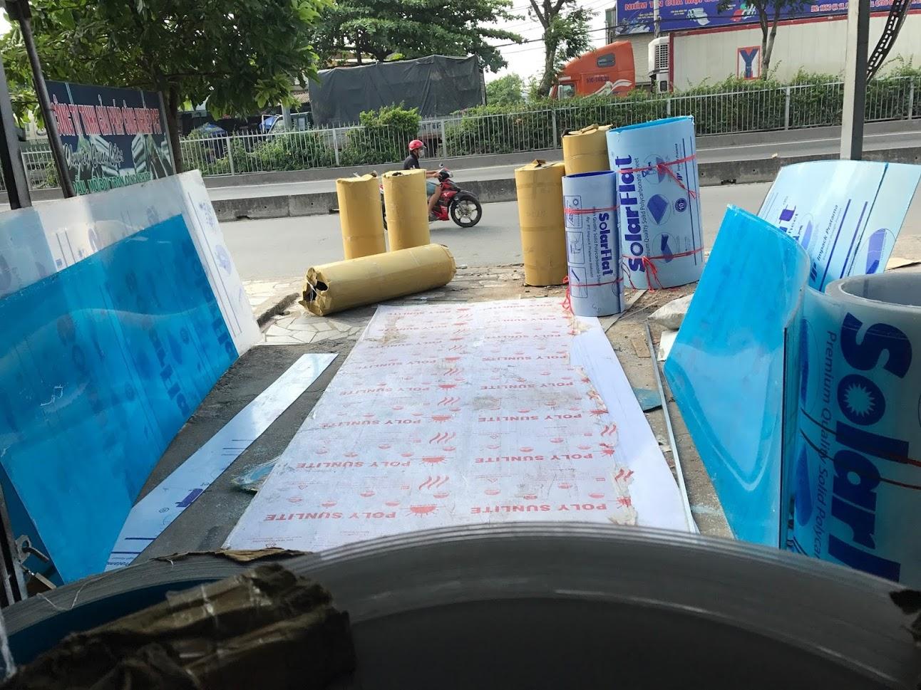 địa chỉ bán tấm polycarbonate uy tín tại TPHCM