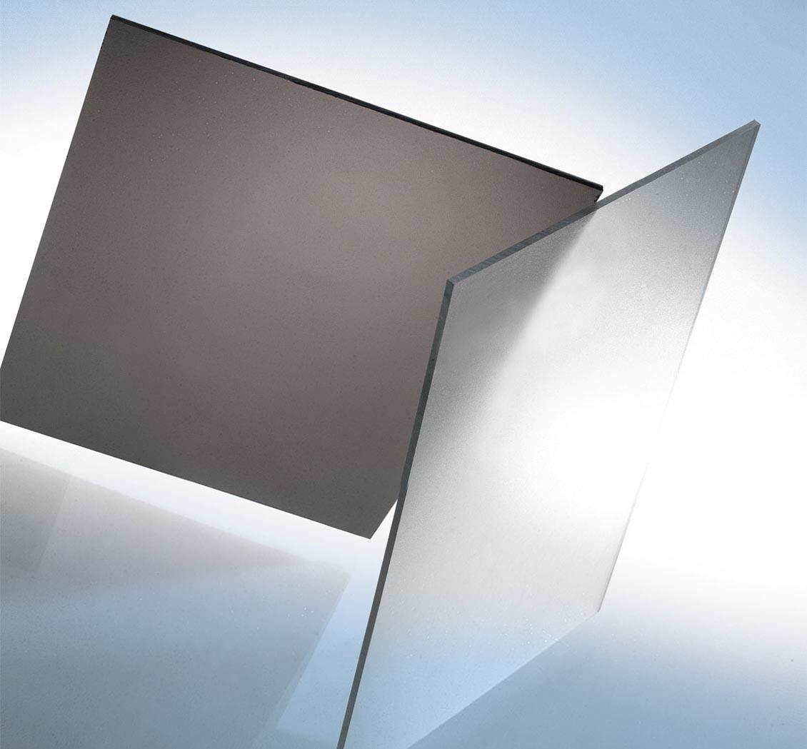 Tấm lợp lấy sáng polycarbonate đặc ruột Solarflat 2.8mm