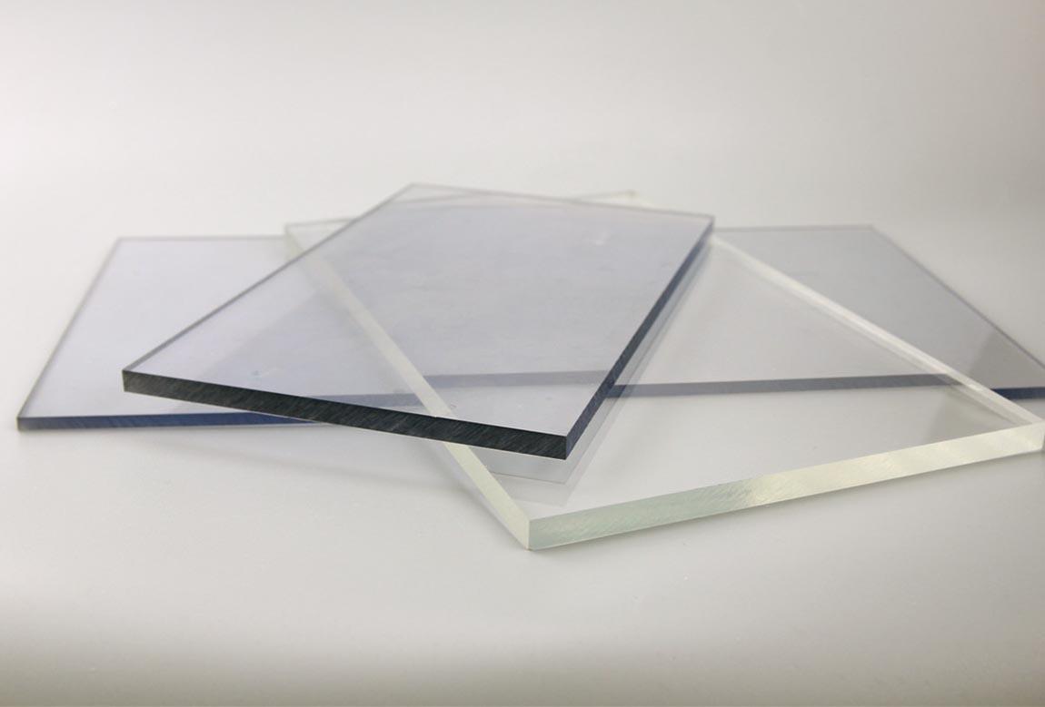 Tấm lợp lấy sáng polycarbonate đặc ruột Solarflat 8mm