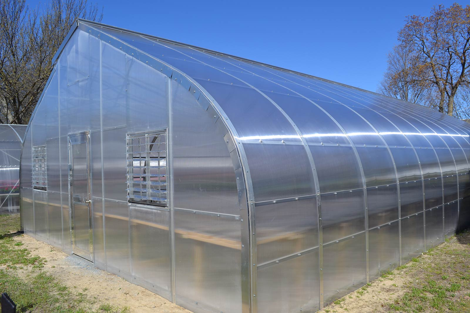 tấm polycarbonate làm nhà kính nông nghiệp