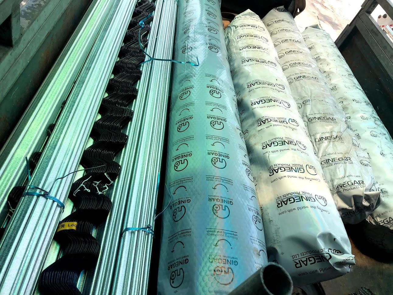 vật liệu nhà kính nhập khẩu chất lượng cao