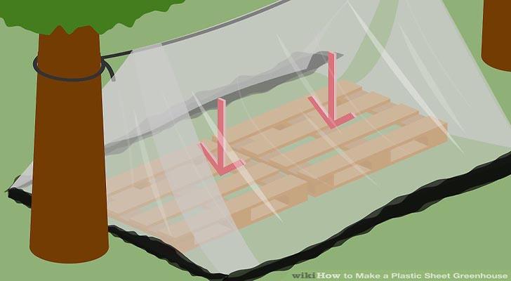 6 bước làm nhà kính đơn giản bằng màng nhựa nilong