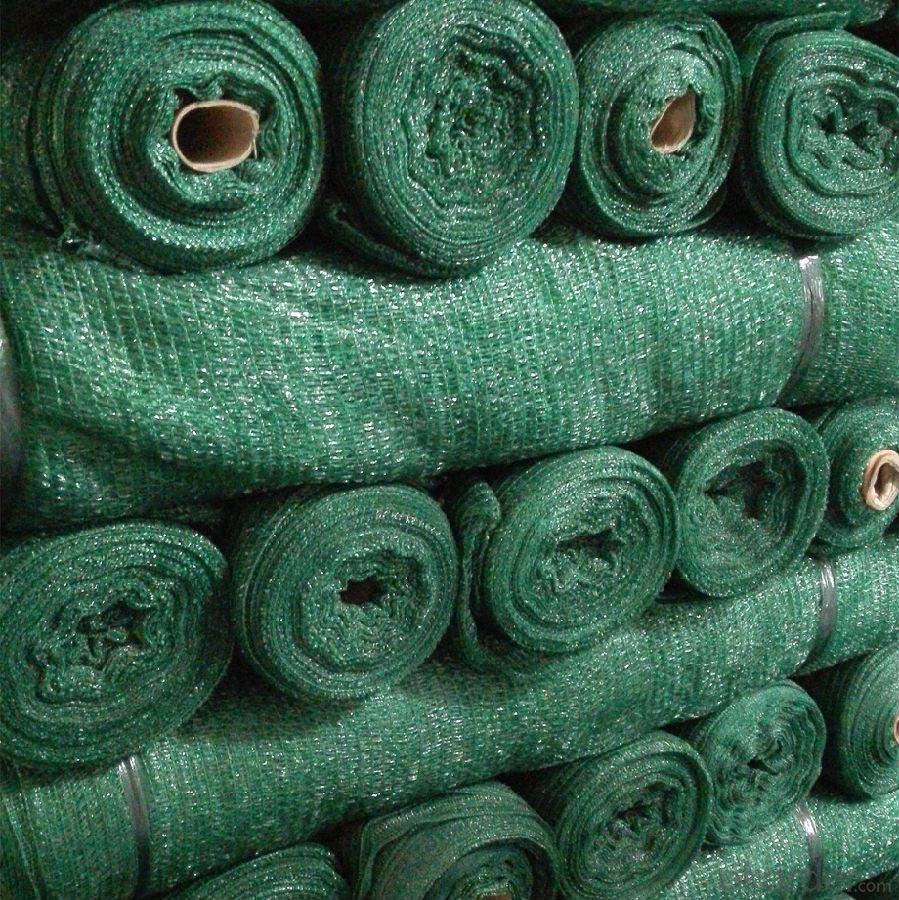 Cuộn lưới phủ che nắng màu xanh lá cây
