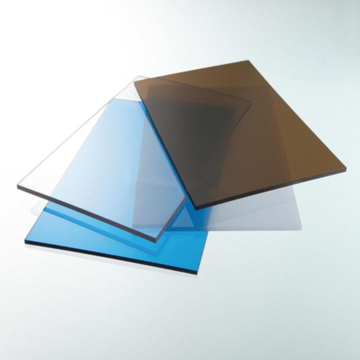 Tấm lợp lấy sáng poly đặc ruột Solarflat 5mm