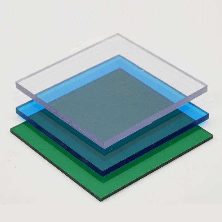 Tấm lợp lấy sáng poly đặc ruột Solarflat 6mm