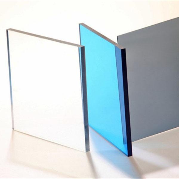 Tấm lợp lấy sáng poly đặc ruột Solarflat 8mm